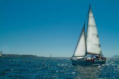 segla ship Arkivfoto