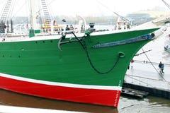 segla ship Royaltyfri Bild