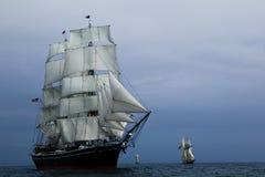 segla ship arkivfoton