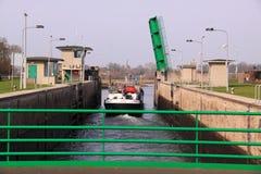 segla shipsluice Fotografering för Bildbyråer