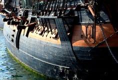 segla shiptappning Arkivfoto