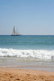 segla som är slätt Royaltyfri Foto