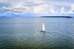 Segla till horisonten Royaltyfria Foton