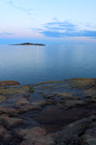 Segla utmed kusten Royaltyfri Bild
