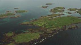 Segla utmed kusten av Norge arkivfilmer