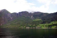 Segla utmed kusten av Norge Royaltyfri Foto