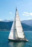 segla yacht Arkivfoton