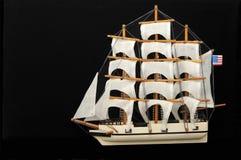 seglar model gammala för clipper shipwhaling Royaltyfri Fotografi