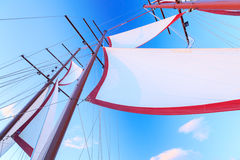 seglar shipen Arkivbilder