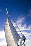 seglar wind Arkivfoto