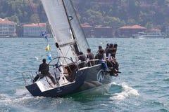 segling 2011 för bosphorussamlingskopp w arkivfoto