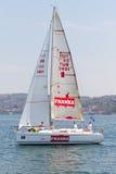segling 2011 för bosphorussamlingskopp w arkivbilder