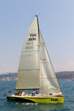 segling 2011 för bosphorussamlingskopp w Royaltyfri Foto