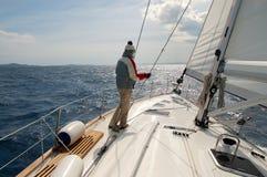 segling Arkivfoton
