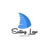 Segling Logo Vector Royaltyfria Foton