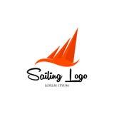 Segling Logo Vector Arkivfoton