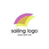 Segling Logo Vector Fotografering för Bildbyråer
