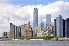 Segling till New York fotografering för bildbyråer