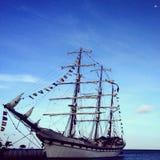 Seglingskepp - Aruba Royaltyfri Bild