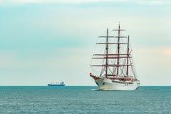 Seglingskepp för tre mast Royaltyfria Foton
