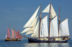 Seglingskepp - Hansesail 2015 - 04 Royaltyfria Foton