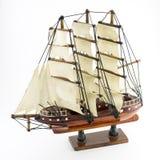 Seglingskeppmodell Arkivfoto