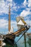 Seglingskonare Amerika 2 Key West Florida Arkivfoto