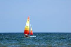 seglingskyttel arkivfoto
