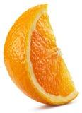 Segment av orange frukt Arkivbilder