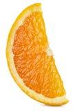 Segment av orange frukt Royaltyfria Bilder