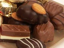 Segment de mémoire de chocolat Images libres de droits