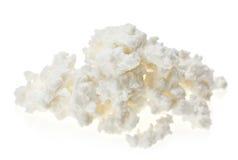 Segment de mémoire de fromage blanc (lait caillé) image libre de droits