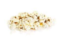 Segment de mémoire de maïs éclaté sur le fond blanc Photo libre de droits