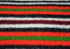 Segment der handgemachten Teppiche Stockfoto