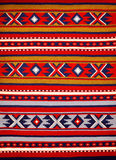 Segment of hand-woven carpets Royalty Free Stock Photography