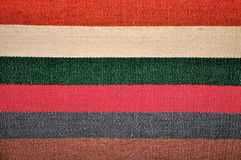 Segment of handmade carpets Royalty Free Stock Photography