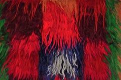 Segment of handmade carpets Royalty Free Stock Images