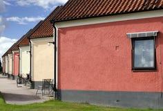 Segment houses background Stock Image