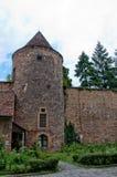 Segment médiéval de tour et de mur, Zagreb Photographie stock