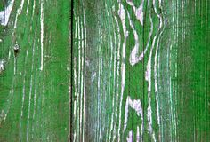 Segment of old green door wood plank royalty free stock photography