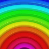 Segment of rainbow. As a colorful background Stock Photography