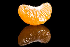 Segment of tangerine Royalty Free Stock Images