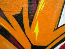 Segment van graffiti Royalty-vrije Stock Foto