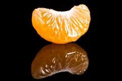 Segment van mandarijn royalty-vrije stock afbeeldingen