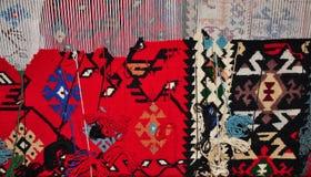 Segment wyplatający dywany Zdjęcia Royalty Free