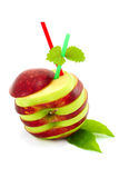 Segmenta a maçã. Imagens de Stock Royalty Free