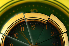 Segmented time Stock Photo