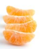 Segmenti arancioni freschi Fotografia Stock