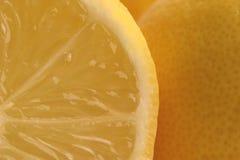 Segmenti del limone fotografie stock libere da diritti