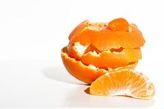 Segmento anaranjado Fotografía de archivo libre de regalías
